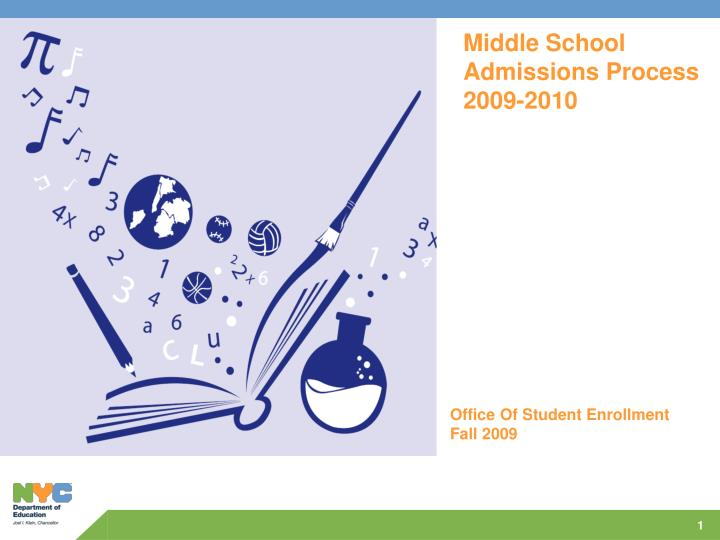 Middle School Admissions Process