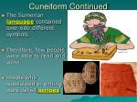 cuneiform continued