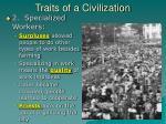 traits of a civilization1