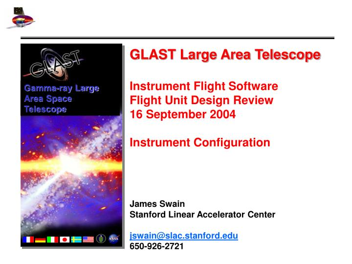 Gamma-ray Large Area Space Telescope