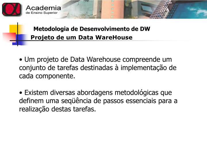 Projeto de um Data WareHouse