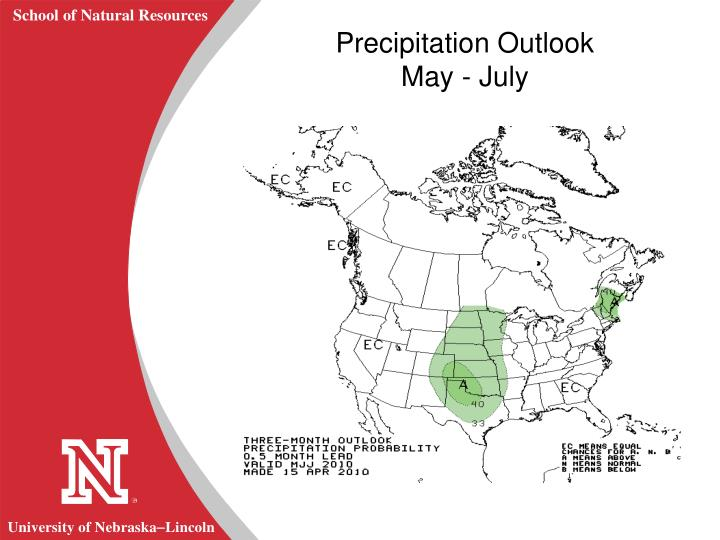 Precipitation Outlook