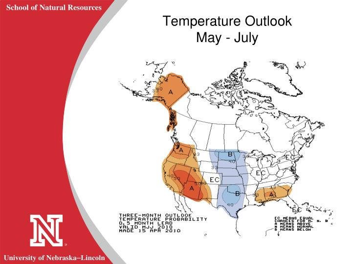 Temperature Outlook