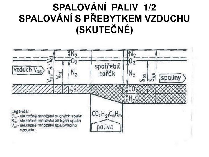 SPALOVÁNÍ  PALIV  1