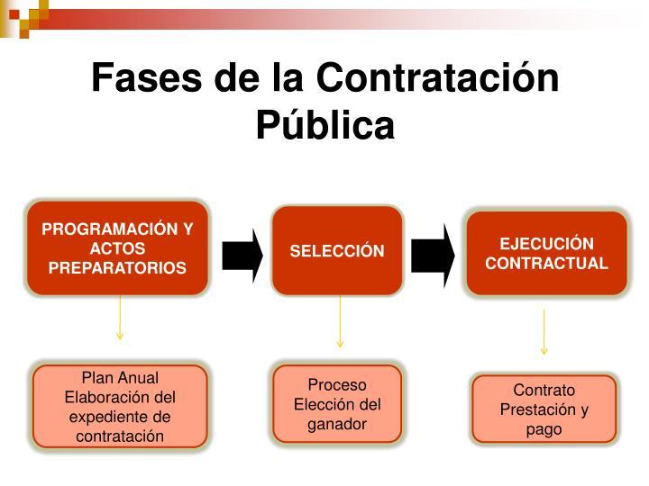 Fases de la Contrataci