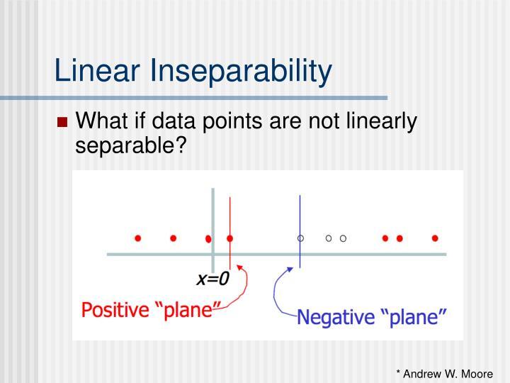 Linear Inseparability