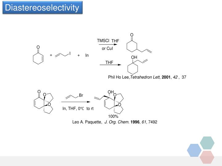 Diastereoselectivity