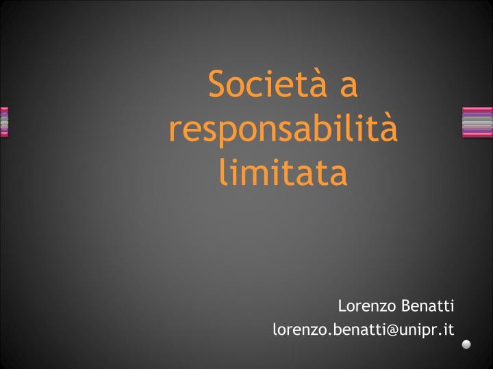 Lorenzo Benatti