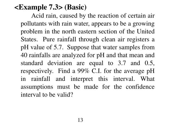 <Example 7.3> (Basic)