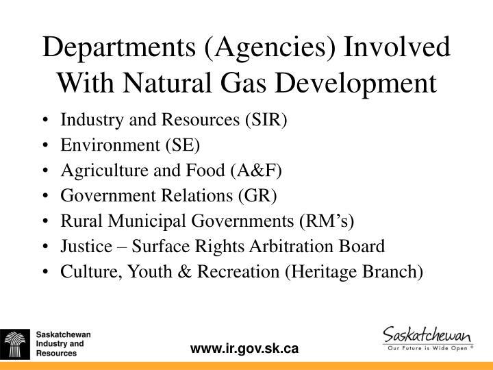 Natural Gas Code Saskatchewan