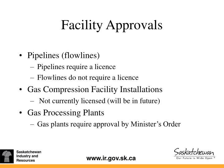 Pipelines (flowlines)