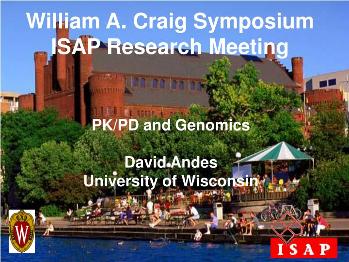 William A. Craig Symposium