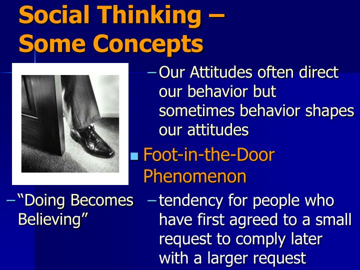 Social Thinking – Some Concepts