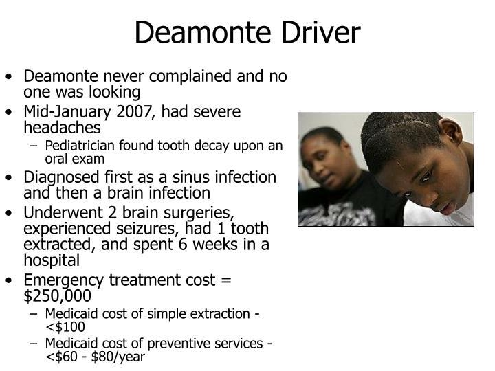 Deamonte Driver