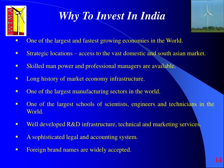 Why To Invest In India