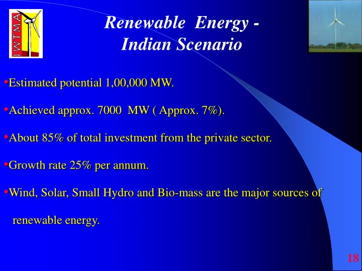 Renewable  Energy -