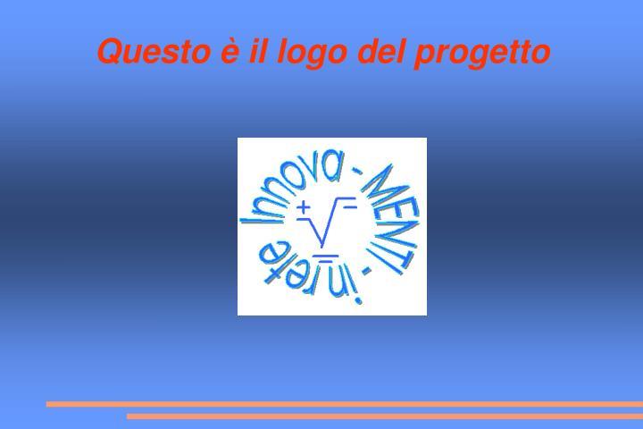 Questo è il logo del progetto