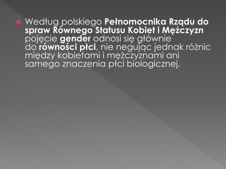 Według polskiego