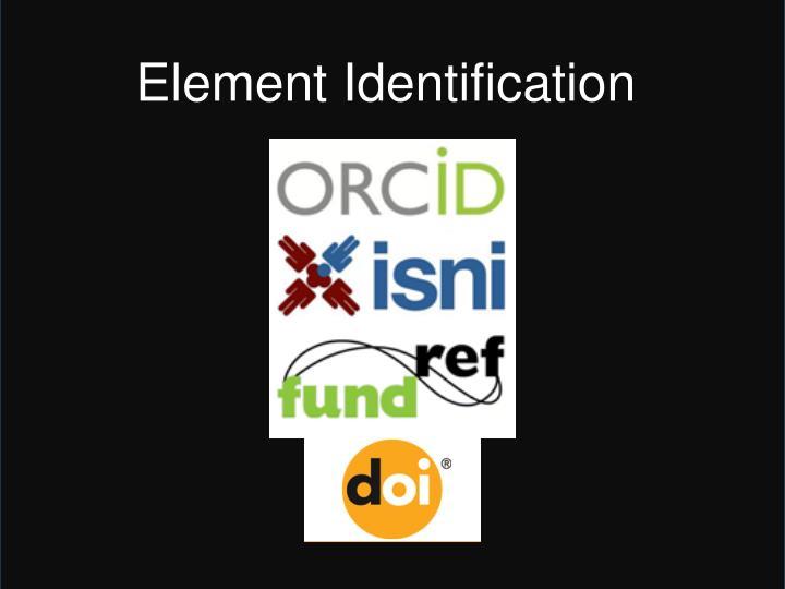 Element Identification