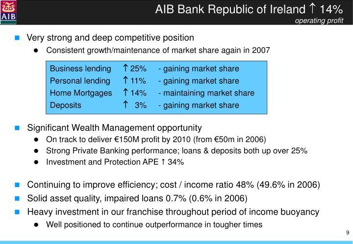AIB Bank Republic of Ireland