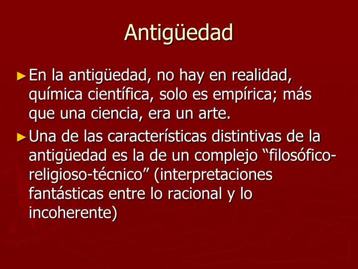 Antigüedad