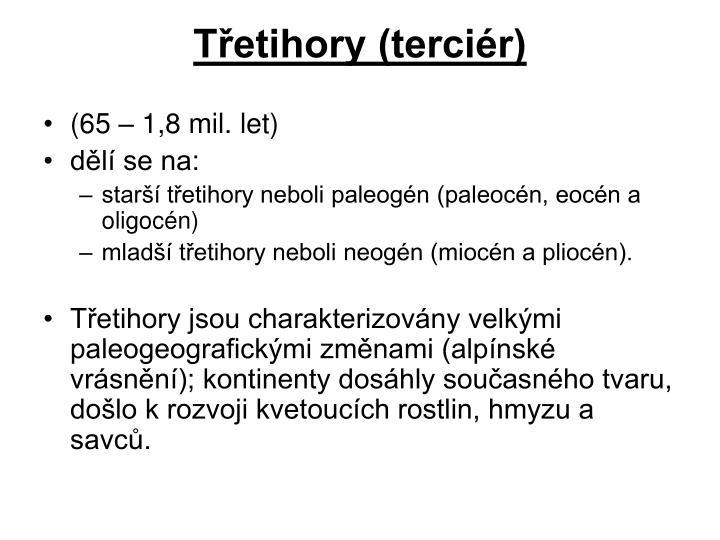 Třetihory (terciér)