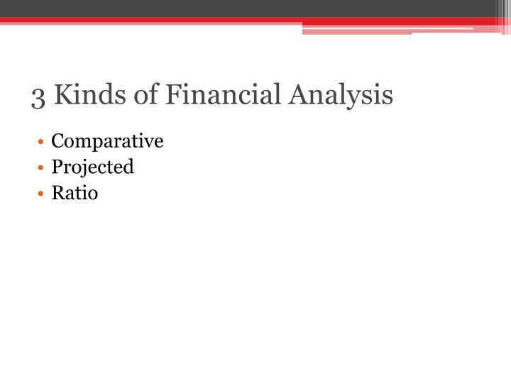 3 Kinds of Financial Analysis