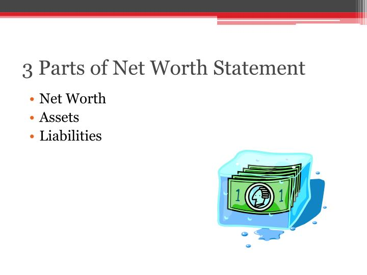 3 Parts of Net Worth Statement