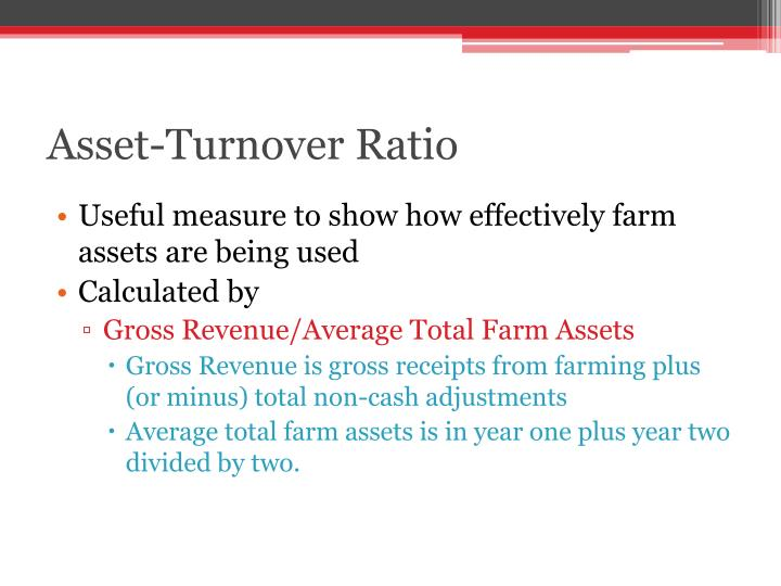 Asset-Turnover Ratio