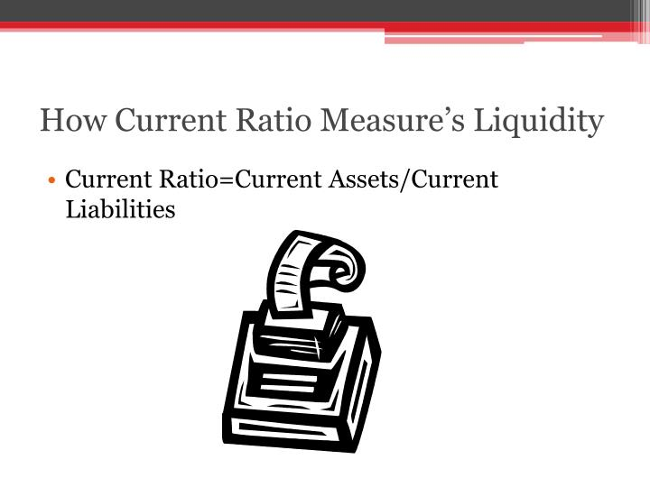 How Current Ratio Measure's Liquidity