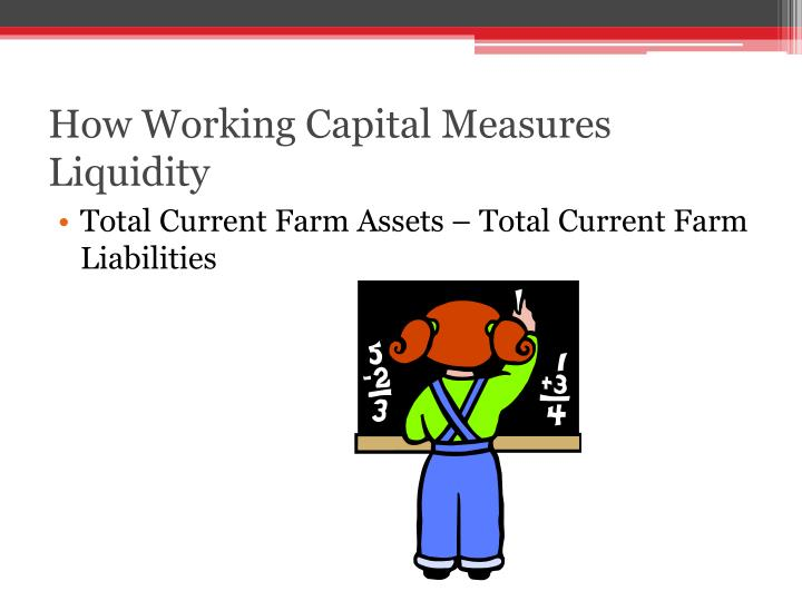 How Working Capital Measures Liquidity