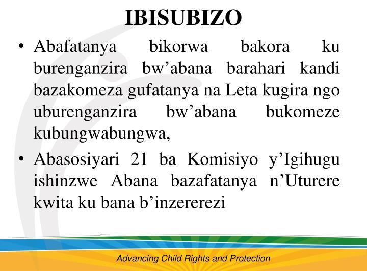 IBISUBIZO