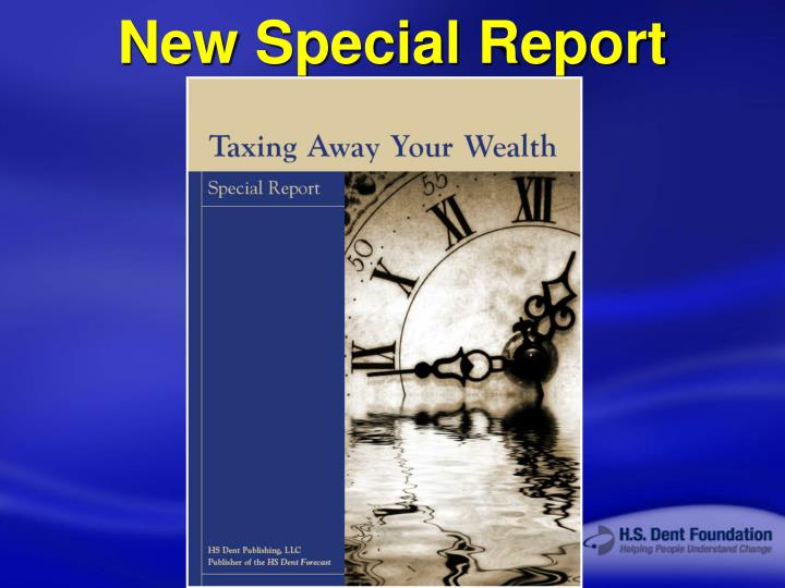 New Special Report