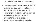 4 la educacion universitaria