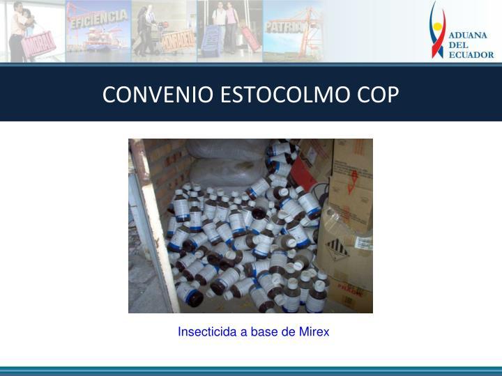 CONVENIO ESTOCOLMO COP