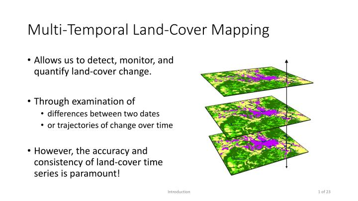 Multi-Temporal Land-Cover Mapping