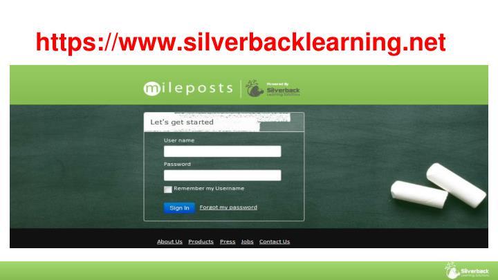 https://www.silverbacklearning.net