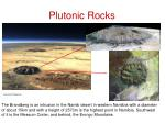 plutonic rocks1