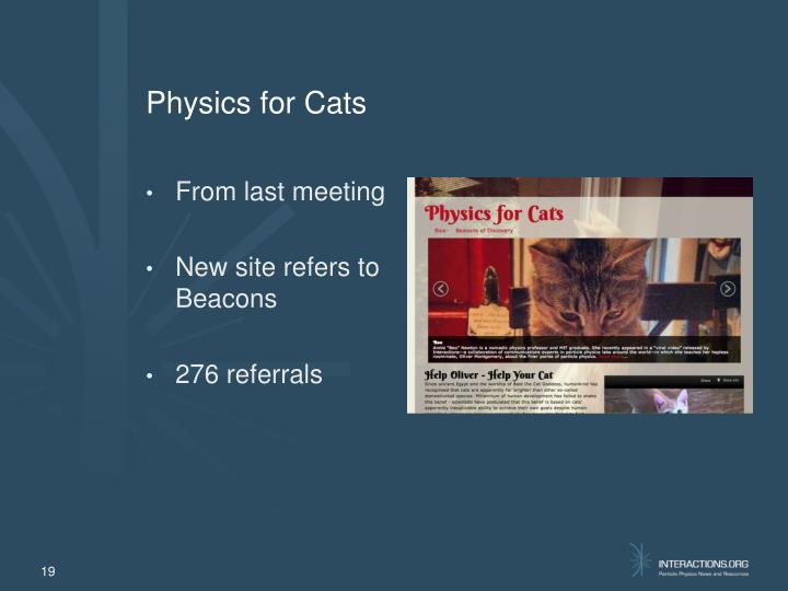 Physics for Cats