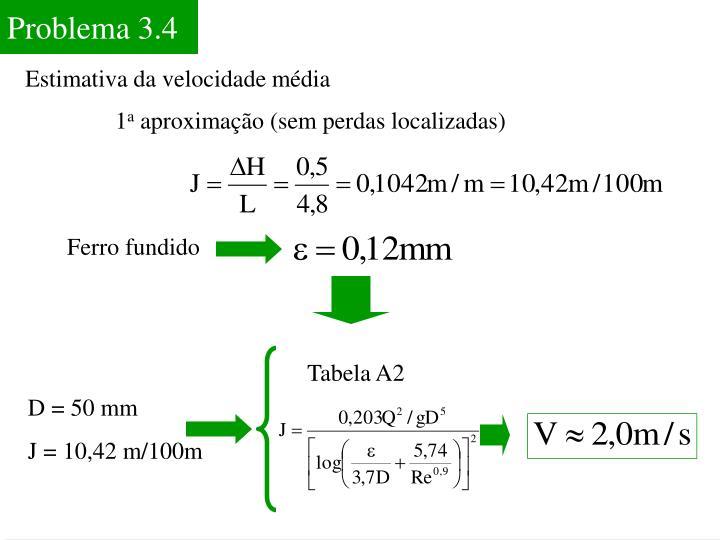 Problema 3.4