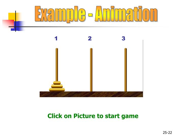 Example - Animation