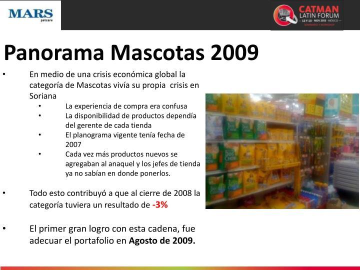 Panorama Mascotas 2009