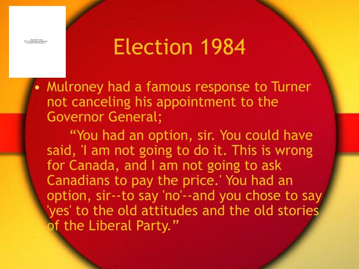 Election 1984