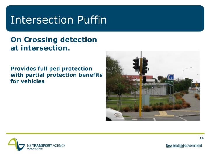 Intersection Puffin