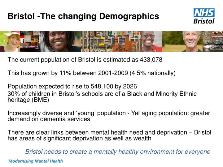Bristol -The changing Demographics