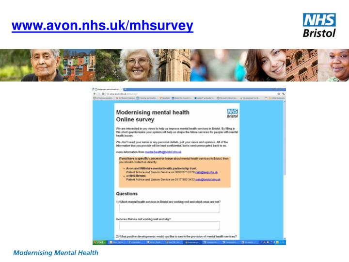 www.avon.nhs.uk/mhsurvey