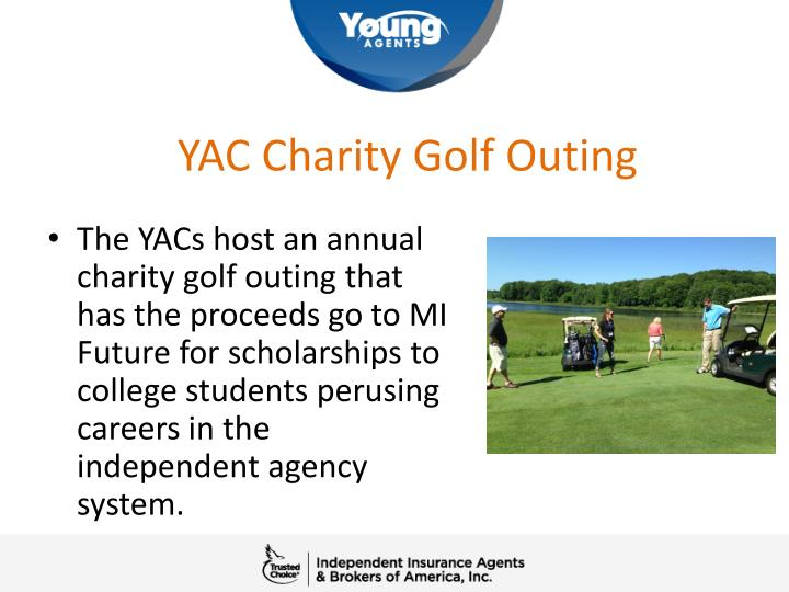 YAC Charity Golf Outing