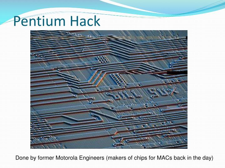 Pentium Hack