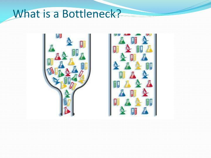 What is a Bottleneck?