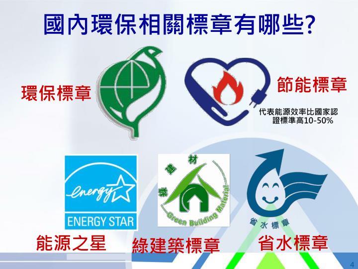 國內環保相關標章有哪些